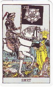 smrt-velka arkana